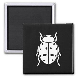 Ladybug Square Magnet