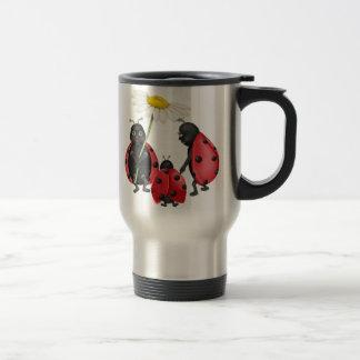 Ladybug Stroll Travel Mug