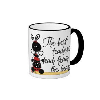Ladybug Teacher Mug