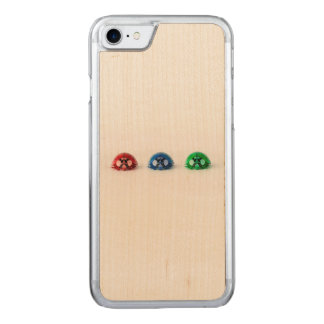 Ladybug three carved iPhone 8/7 case