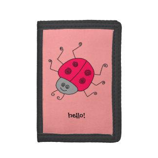 Ladybug Trifold Wallet