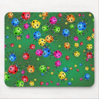 Ladybug Wallpaper Mouse Mat