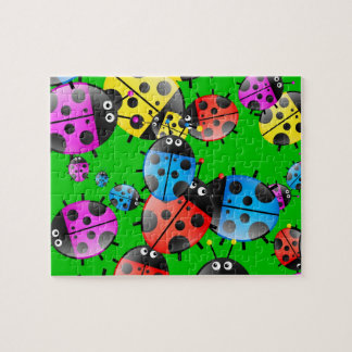 Ladybug Wallpaper Puzzle