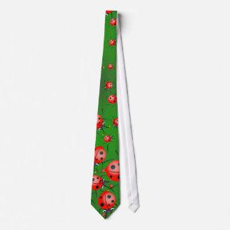 Ladybug Wallpaper Tie
