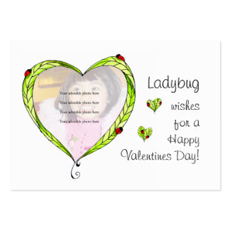 Ladybug Wishes cards Pack Of Chubby Business Cards