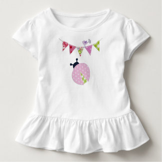 Ladybug with party flags toddler T-Shirt