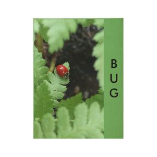 Ladybug Wood Poster