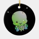 Ladybug Zombie Ornament