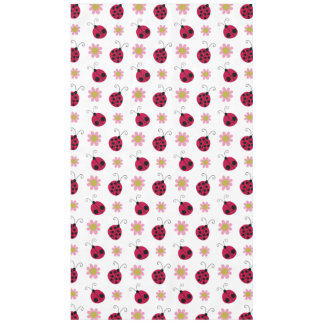 Ladybugs and Flowers Tablecloth