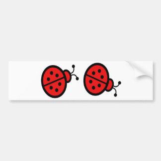 Ladybugs Art Gifts Bumper Sticker