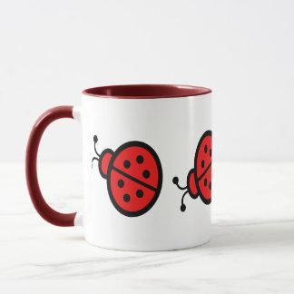 Ladybugs Art Mug