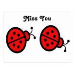 Ladybugs Art Postcards