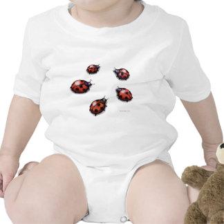 Ladybugs Baby Bodysuits