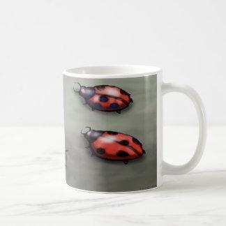 Ladybugs Basic White Mug