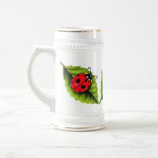 Ladybugs Beer Stein