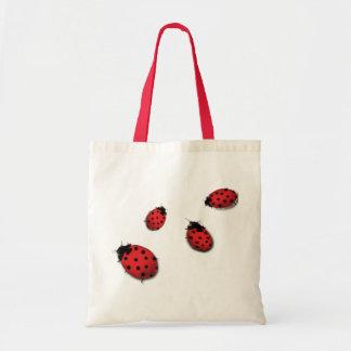 Ladybugs Budget Tote Bag