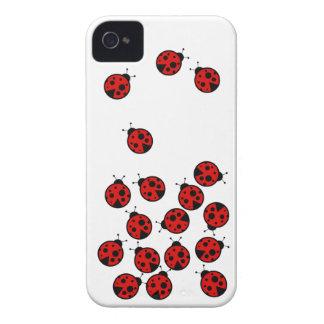 Ladybugs Case-Mate iPhone 4 Case