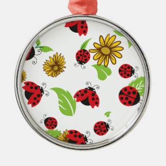 Ladybugs Christmas Ornament