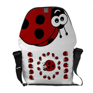 Ladybugs Courier Bags