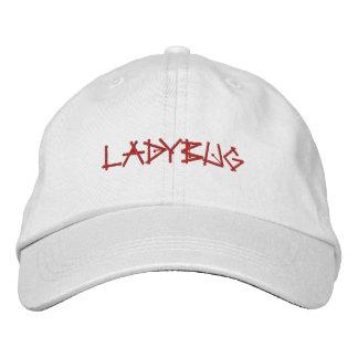 LADYBUGS EMBROIDERED HAT