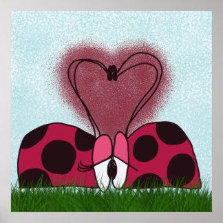 Ladybug's First Encounter ~ Print