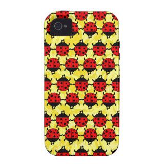 LADYBUGS iPhone 4 Case-Mate Case