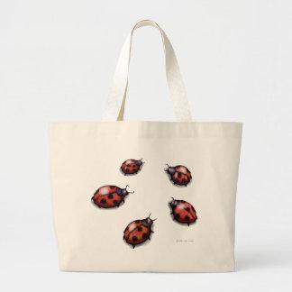 Ladybugs Jumbo Tote Bag