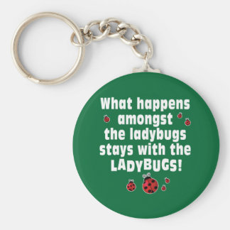 Ladybugs Key Ring