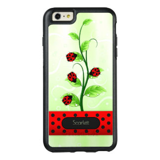 Ladybugs Ladybirds on Vine OtterBox iPhone 6 Plus
