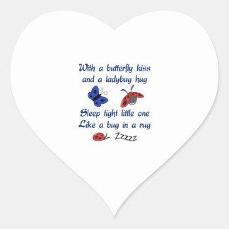 LADYBUGS LILLABYE HEART STICKER