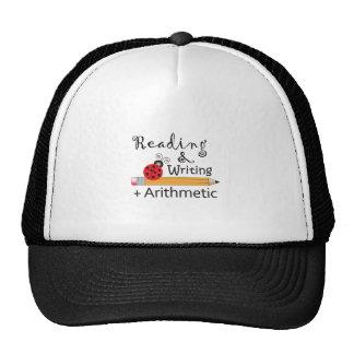 LADYBUGS ON PENCILS MESH HATS