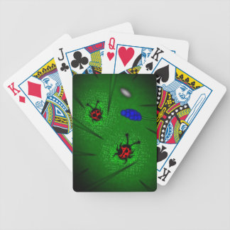 Ladybugs Playing Cards