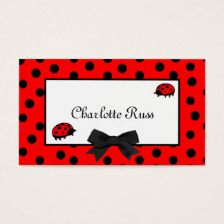 Ladybugs & Polka Dots Mommy Card