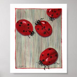 Ladybugs! Poster