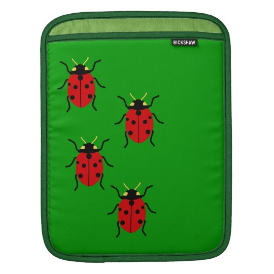 Ladybugs Sleeves For iPads