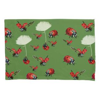Ladybugs Spring  Pillowcase