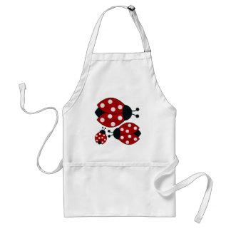 Ladybugs Standard Apron