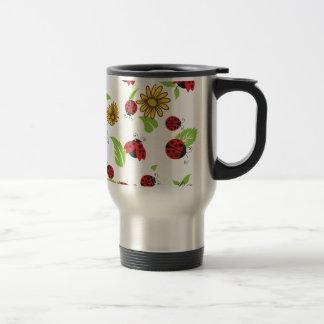 Ladybugs Travel Mug