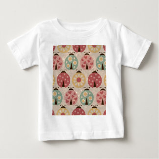 Ladybugs vintage girly  floral fun colorful chic shirts