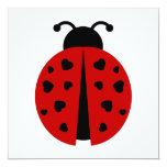 ladybugz. custom invitation