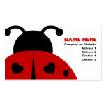 ladybugz. pack of standard business cards