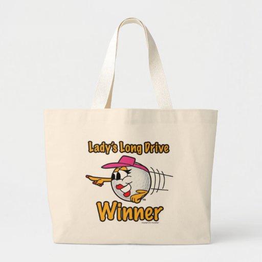 Lady's Longest Drive Winner Bag