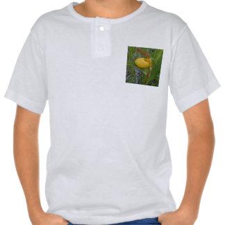 Lady's Slipper Kids' Baseball Jersey Tee Shirt