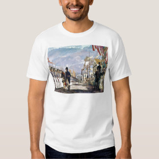 Lafayette and the National Guard by Ken Riley T Shirt