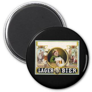 Lager bier fridge magnets