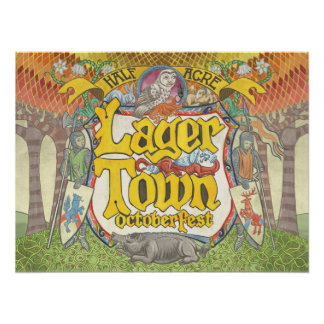 Lager Town 2016 Poster