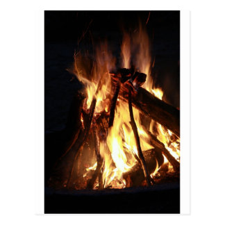Lagerfeuer Postcard