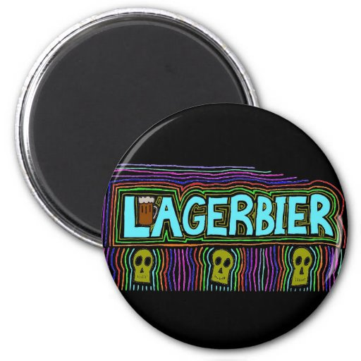 Lagers Are the Best Beers Refrigerator Magnets