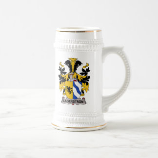 Lagerstrom Family Crest Coffee Mugs