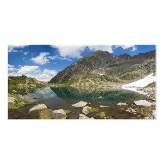 Lago Piccolo Val di Sole Custom Photo Card